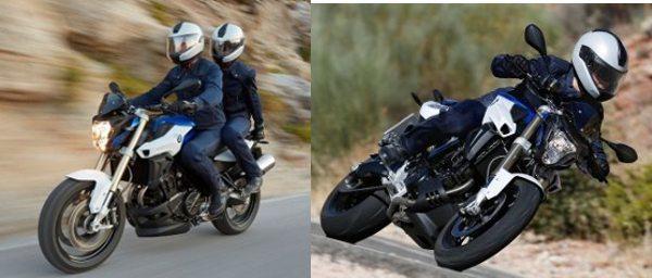 """Novo garfo dianteiro """"up side down"""" e nova posição das pedaleiras do piloto: mais conforto"""