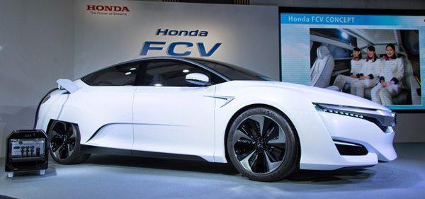 Honda FCV chegará ao mercado em 2016