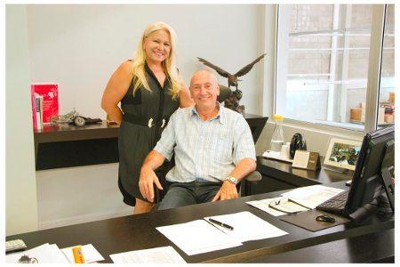Saul Trosman e sua esposa Lourdes, donos da Laquila