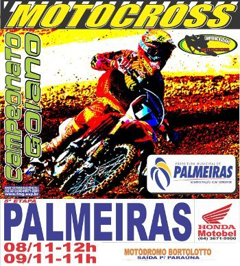 5ª etapa do Goiano de Motocross é neste final de semana