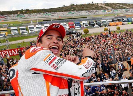 Marc Márquez carimbou com vitória a faixa de campeão de 2014