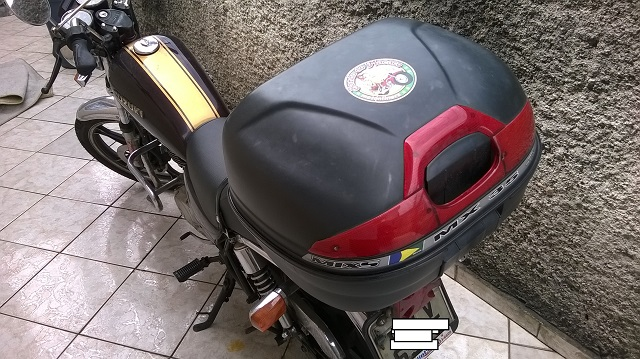 Última foto da motoca