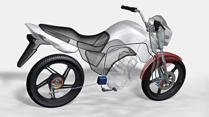 """Lei determina que as motos """"pequenas"""". abaixo de 300cc, deverão ter o CBS, sistema que aciona junto com o freio traseiro também o dianteiro com menor força"""