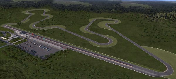 Perspectiva do Circuito dos Cristais