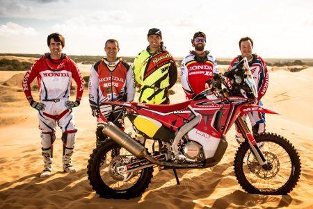 Jean Azevedo é um dos integrantes da Equipe Honda South America Rally Team - foto de divulgação