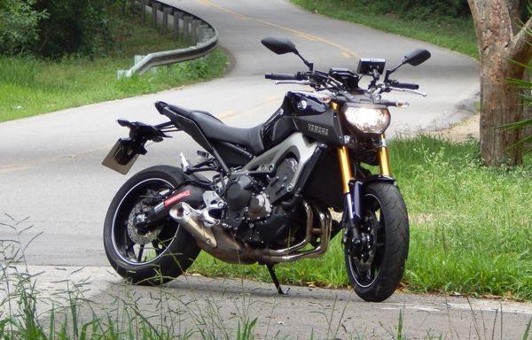 Yamaha MT-09, um exemplo de simplicidade e objetividade num projeto bem executado