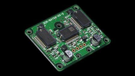 Módulo eletrônico que executa as medições nos seis eixos para controle em 3D da pilotagem