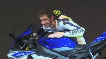 Valentino participou ativamente no desenvolvimento da nova R1