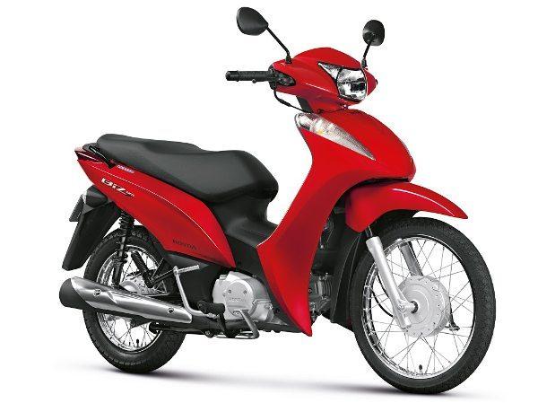 Biz 125 ES e EX 2015 também estarão disponíveis na cor vermelha