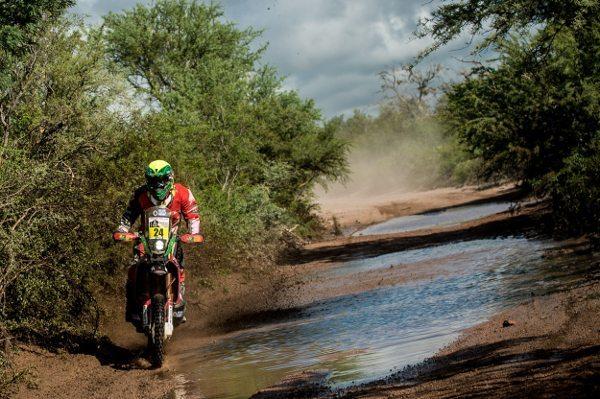 Jean Azevedo, piloto Honda South America Rally Team no Dakar 2015 - foto de Victor Eleutério