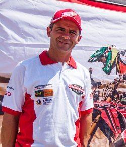 Jean Azevedo teve hohe a sua melhor performance na atual edição do Dakar