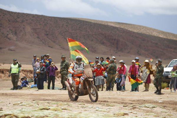 Pablo Quintanilla conquista inédita vitória na 8º etapa do Dakar 2015
