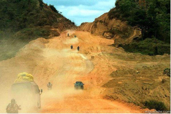 Os caminhos pela Amazônia pouco amigáveis