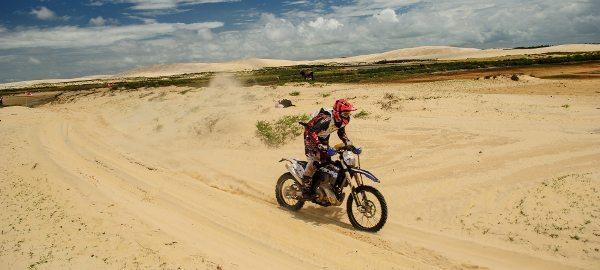 Wesley Macedo, piloto de motos do Piocerá -  crédito:   webventure