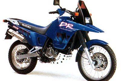 Suzuki_DR800, concorrente à altura para a Ténéré