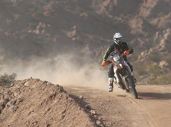 O australiano Toby Price conseguiu a segunda posição na etapa