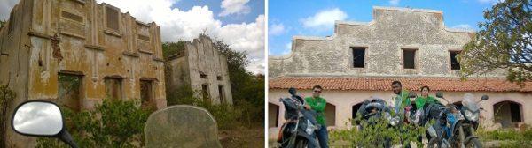 Algumas ruínas da cidade fantasma