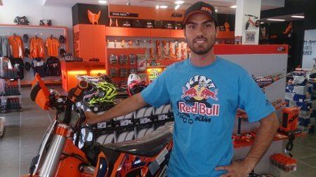 O piloto mineiro Rigor Rico é o mais novo contratado da equipe de Enduro Orange BH KTM Racing Divulgação / Y.Sports