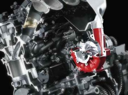 Supercharger feito especialmente para essa moto