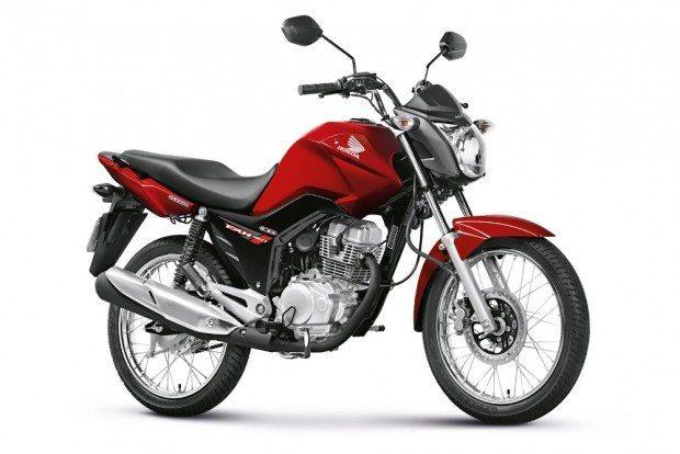 A 4.000.000ª moto bicombustível produzida pela Honda no Brasil foi uma CG 150 FAN