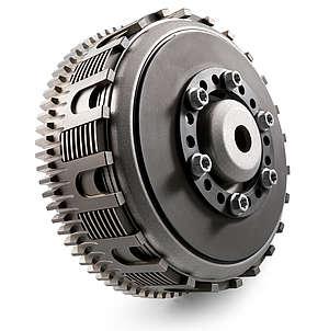O sistema de mola da embreagem é um disco, DDS Chamado Damped Diafragm Steel (Aço diafragma amortecido) é mais compacto