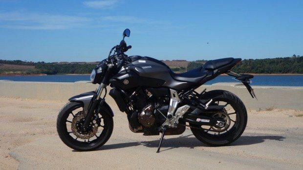 Yamaha MT-07 pode ser considerada a sucessora da clássica RD-350 Divertida e com boa esportividade