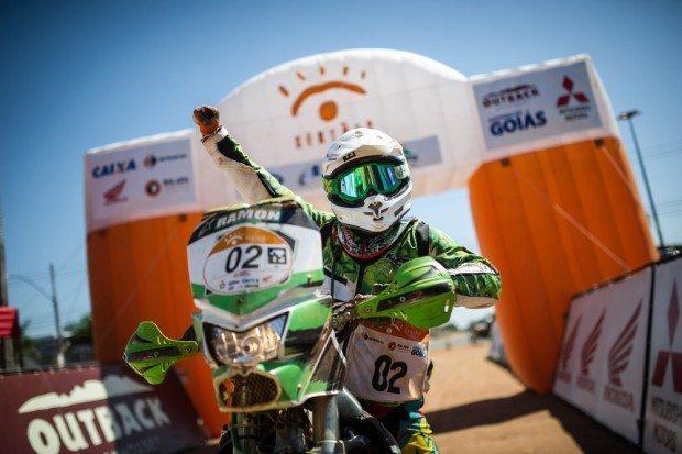 Ramon Sacilotti vibrou muito com o título de vicecampeão - foto: Marcelo Machado/Foto Arena