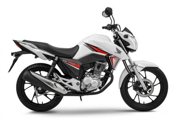 A nova Titan 160 pode vir nas cores Branca, Preta e Vermelha, com três anos de garantia e sete trocas de óleo