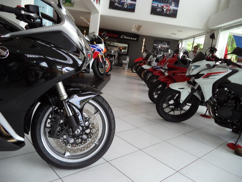 Mercado de motos apresenta números positivos em agosto de 2015 - foto: Mário Figueredo