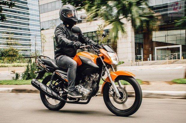 A nova Yamaha Factor 150 tem um design inovador e agressivo - Proposta de maior conforto ao motociclista
