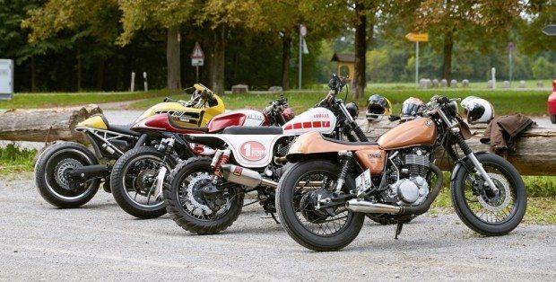 As vencedoras: SR 400, XV 950, XJR 1300 e VMAX