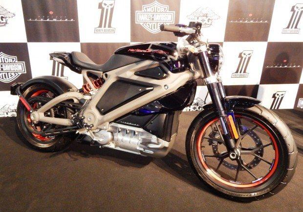 Moto elétrica da Harley-Davidson, o projeto LiveWire