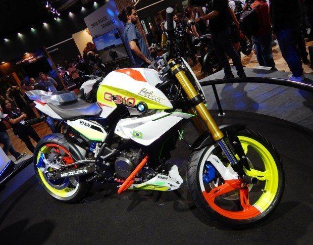 G 310 Stunt: a moto conceito derivada de uma naked de pequena cilindrada