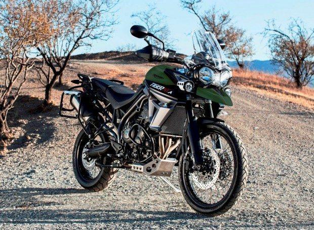 Tiger XCa: mais uma versão da mesma moto