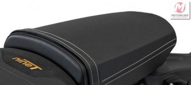 Assento da garupa Comfort
