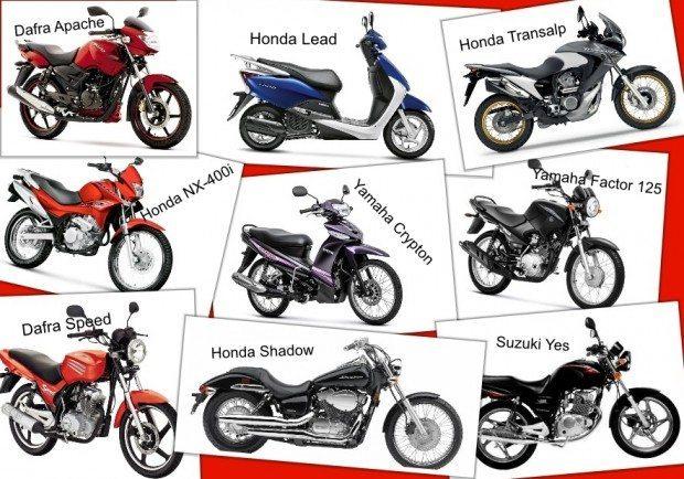 Algumas destas já foram descontinuadas, como as Honda Shadow, NX-400i e Transalp; as outras ainda não há uma palavra oficial das fábricas, mas elas podem entrar na lista
