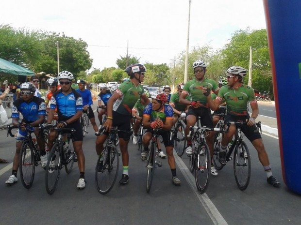Prova de encerramento do Piauiense de Ciclismo de Estrada aconteceu no último domingo