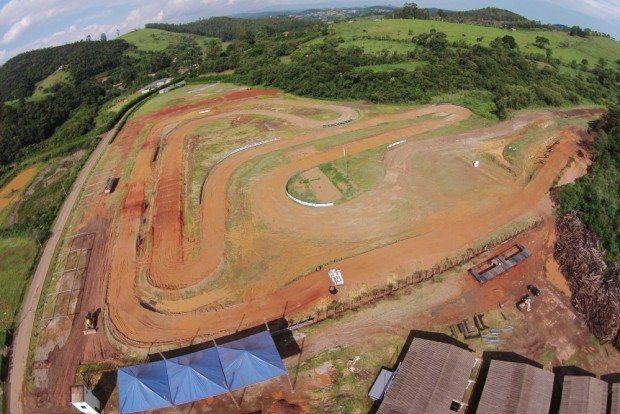 A pista que vai receber a final da Copa Minas Gerais de Motocross 2015 - foto: Fred Mancini