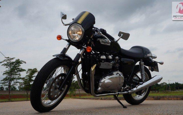 Teste Triumph Thruxton