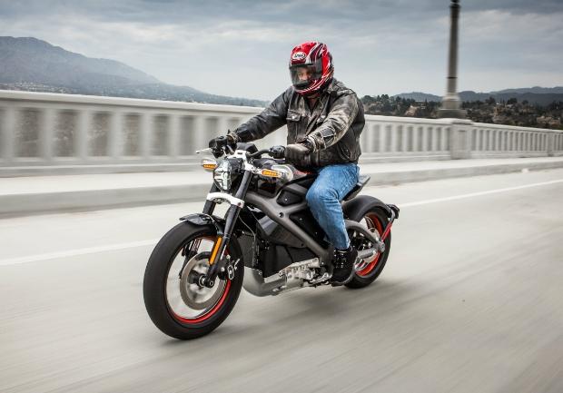 Motos elétricas serão realidade nas ruas brevemente, como esta Harley-Davidson LiveWire