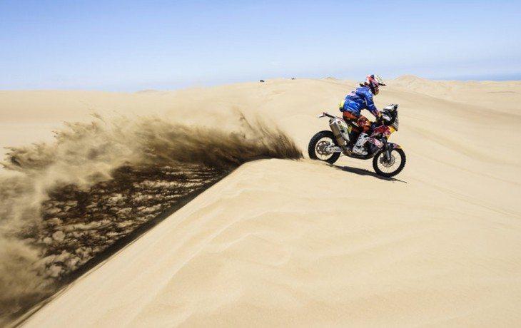 Motos - melhores imagens do Dakar 2016