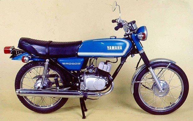 Yamaha RD 50, a pioneira entre as motos fabricadas no Brasil - divulgação