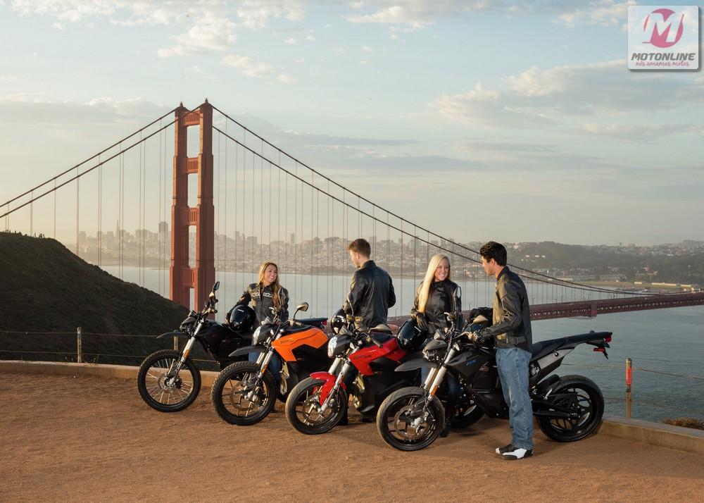 Novo estilo de vida proposto pelas motos elétricas Zero