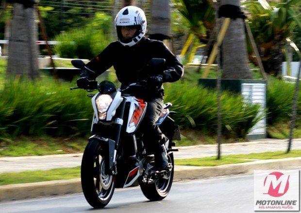 Evento oferece a oportunidade para conhecer melhor as novidades da KTM, a 200 Duke...