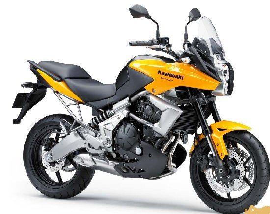 Kawasaki Versys 650, a moto escolhida por Eduardo para a viagem