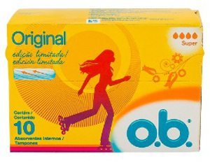 OB® é marca registrada Johnson & Johnson