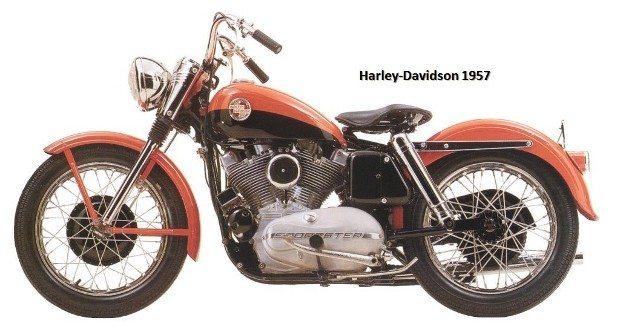 Não importa o ano, as Harley-Davidson são sempre desejadas por restauradores