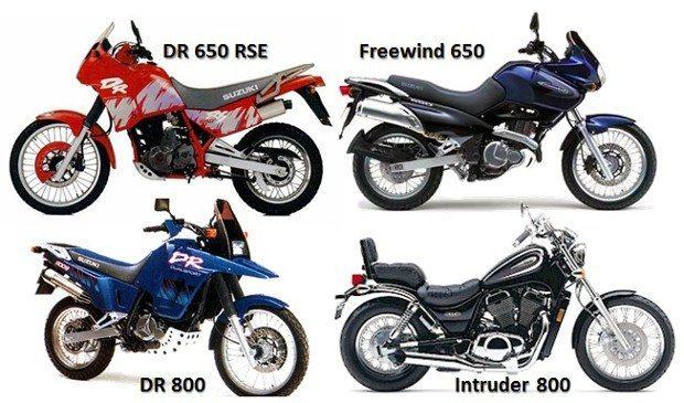 Os modelos mais procurados da Suzuki