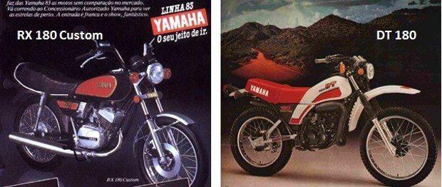 A família 180 da Yamaha