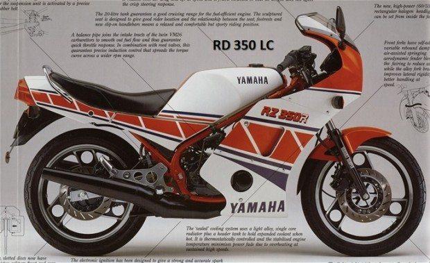 RD 350 LC, a mais procurada das Yamaha da década de 1980